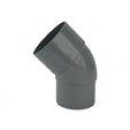 PVC Virage 45 degrés pour un tuyau de 100 mm