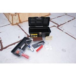 Boîte à outils avec outils