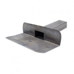 Sortie d'écoulement  pour eau de pluie 25/30P 60-80 31cm 90°