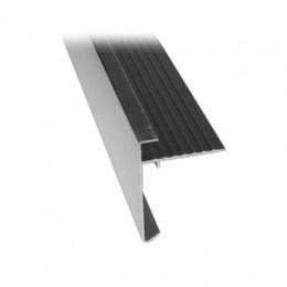 Bordure de toit en aluminium 35x28 mm, 2.5 m